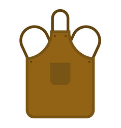 Blacksmiths apron icon isolated vector