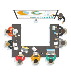 business seminar vector image