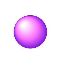 Gradient round icon vector