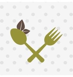 Healthy food menu design vector