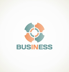 in business vector image