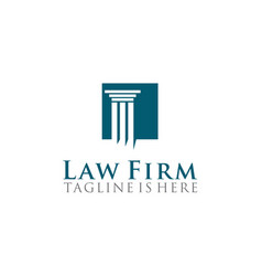 Law firm logo design vector