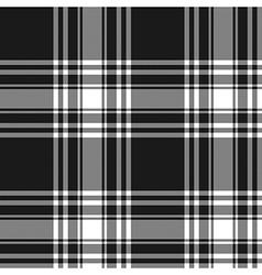 Menzies tartan black kilt skirt fabric texture vector
