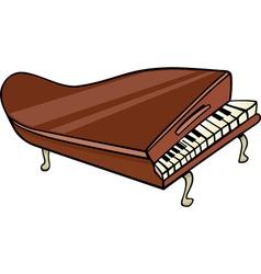 piano clip art cartoon vector image
