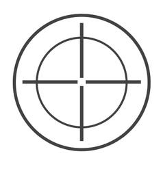 Target circle vector image