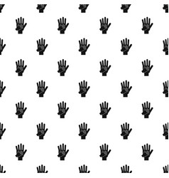 parent and child hands together pattern vector image vector image