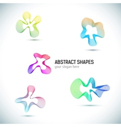Abstract Business Design elements set vector image vector image