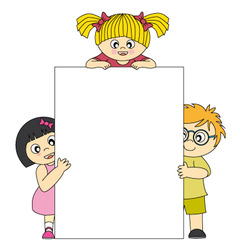 child vector image