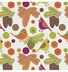 nature birds wallpaper vector image vector image