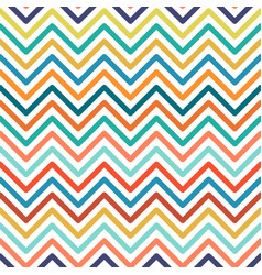 chevron colorful seamless geometric pattern vector image