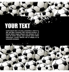 balls background vector image vector image