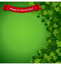 Patricks day background vector