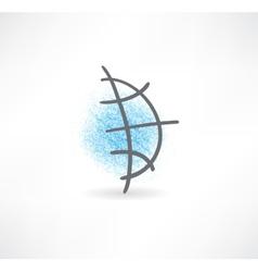 Global icon vector image