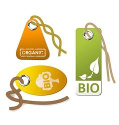 organic goods vector image vector image