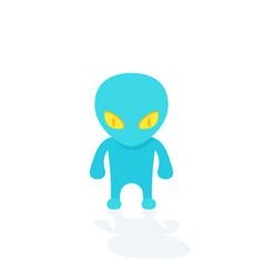 Alien extraterrestrial vector
