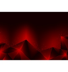 Burning Red Crystals vector