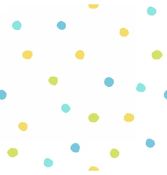 Color paint drops vector