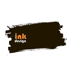 ink banner vector image