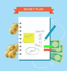 Plan note 001 vector