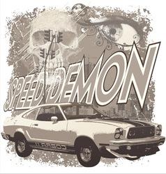 Speed demon vector