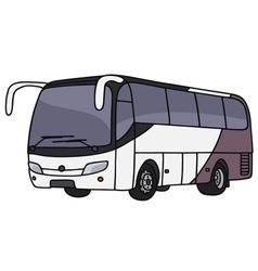 Touristic bus vector