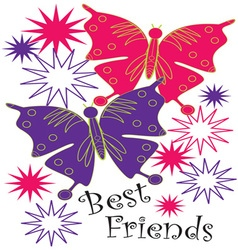 Best Friends vector