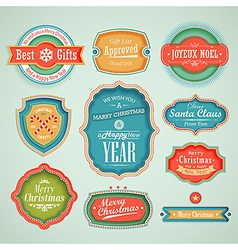 cute labels vector image