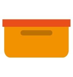 Folder container file icon vector