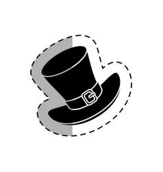 leprechaun hat isolated icon vector image