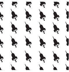 Seamless patterns with hand bells vector