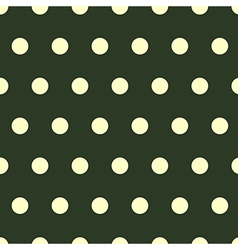 Seamless polka dot pattern background vector