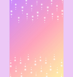 Sparkling dot line falling frame background vector