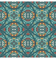 geometric doodle seamless pattern vector image