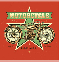 t-shirt or poster design vector image