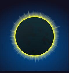 eclipce vector image