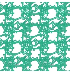 Abstract pattern underwater world vector