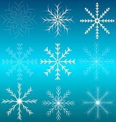 Background Blue Celebration Christmas Cold Element vector