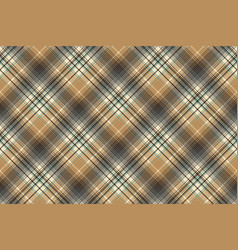 beige abstract plaid seamless pattern vector image