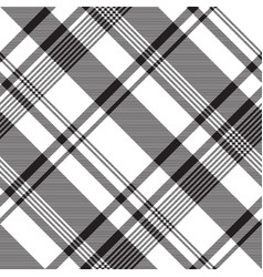 Black white abstract fabric texture seamless vector