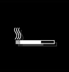 cigarette icon flat vector image