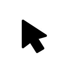 computer mouse cursor icon vector image