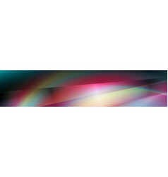 dark colorful smooth gradient abstract banner vector image