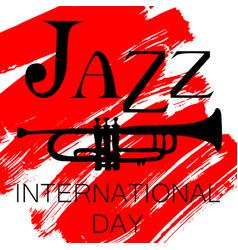 International jazz day vector