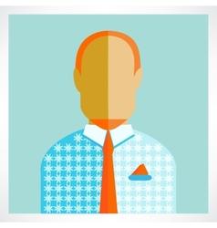 man Flat icons vector image