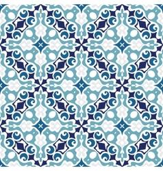 Moasic tiled oriental vector image