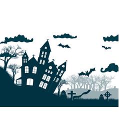 original halloween party poster vector image
