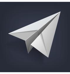 PaperPlaneMono vector image