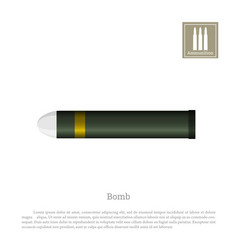 projectile drawing on a white background vector image