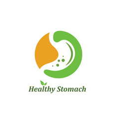 Stomach design vector