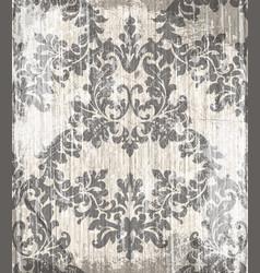 vintage baroque victorian pattern floral vector image